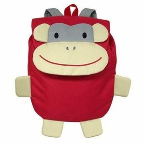 Green Sprouts Red Monkey Backpack, Preschooler NWT